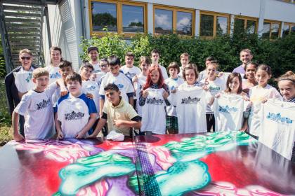 4 Headicao KL an der Lina Pfaff Schule. Fotograf Der Brecher